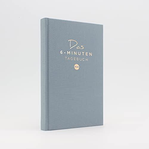 Das 6-Minuten Tagebuch PUR   Dankbarkeitstagebuch, Anti-Stress Tagebuch   Täglich 6 Minuten für deine...