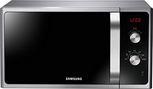 Samsung MWF300G Mikrowelle MS2AF300EES/EG / 800 W / 23 L Garraum / 48,9 Breite / 6 Leistungsstufen / Auftauautomatik / Silber