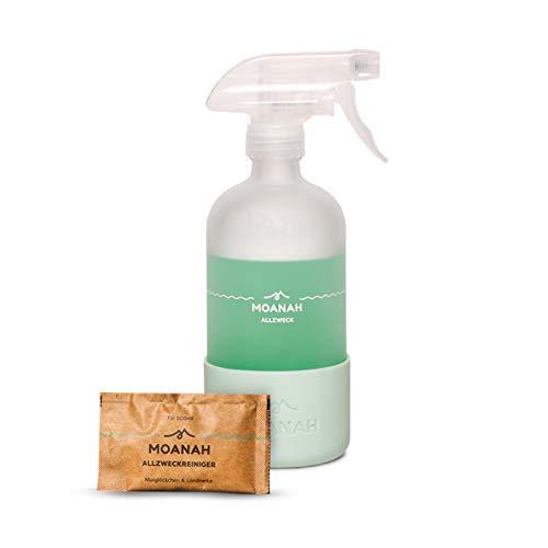 Moanah Allzweckreiniger | in Glasflaschen, nachfüllbar, nachhaltig, biologisch abbaubar, basierend auf natürlichen Tensiden...
