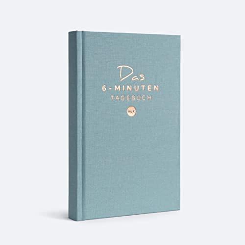 Das 6-Minuten Tagebuch PUR | Dankbarkeitstagebuch, Anti-Stress Tagebuch | Täglich 6 Minuten für deine...