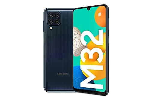 Samsung Galaxy M32 Android Smartphone ohne Vertrag, 6,4-Zoll -Infinity-U-Display, starker 5.000 mAh Akku, 128 GB/6 GB RAM,...