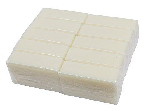 Wasserrose® 10x100g=1kg KERNSEIFE DIY SEIFE REIN OHNE DUFT OHNE FARBSTOFFE OHNE PALMÖL OHNE EDTA Made IN Germany