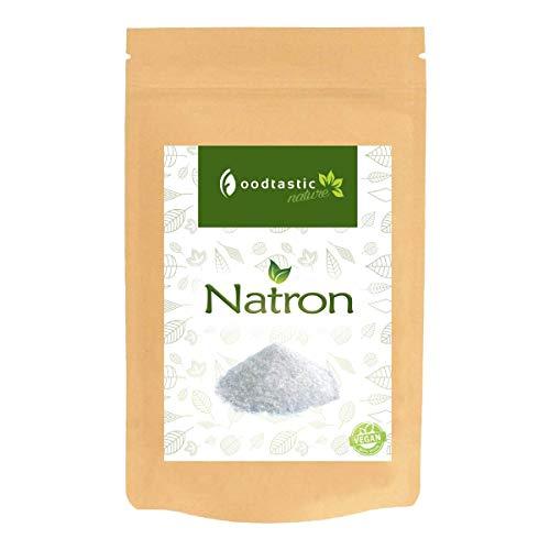 Foodtastic Natron 1kg / 1000g (NaHCO3) I Natriumhydrogencarbonat Backsoda I vielseitig einsetzbar I Zutat für Basenbad und...