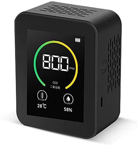 CO2 Messgerät Luftqualität Messgerät USB CO2 Kohlendioxid Detektor 400-5000PPM Messbereich Intelligenter Lufttester mit...