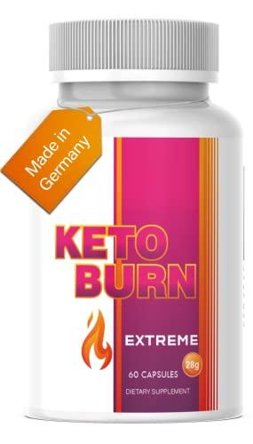 Saint Nutrition® KETO BURN - Appetitzügler & extrem schnell - 2 Kapseln für den Tag & endlich für Frauen und Männer mit...