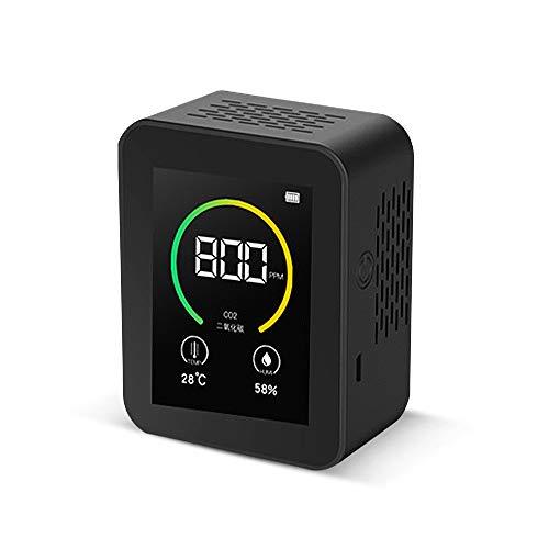 Tickas Kohlendioxid CO2-Detektor Gaskonzentration Inhalt Farbbildschirm TFT Intelligenter Lufttester Luftqualitätsanalysator...