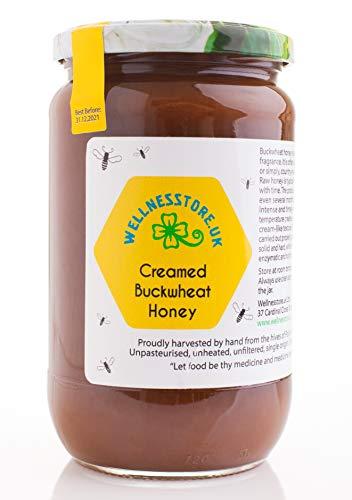 1kg ECO Roher Buchweizenhonig | Trüber Buchweizenhonig | Cremiger Honig | Unpasteurisierter Honig | Starker Geschmack |...