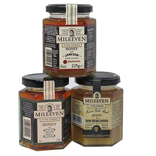 Irische Bienenhonig- Spezialitäten 3er Auswahl
