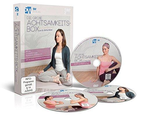 Die große Achtsamkeits-Box (hilft bei Stress, Schmerzen & Depressionen - 1 DVD Achtsamkeitsyoga, 2 CDs Meditationen &...