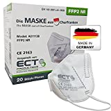 COCO BLANCO FFP2 Masken CE Zertifiziert aus Deutschland - 20X FFP2 Maske (NR) MADE IN GERMANY - Premium Atemschutzmaske FFP2...