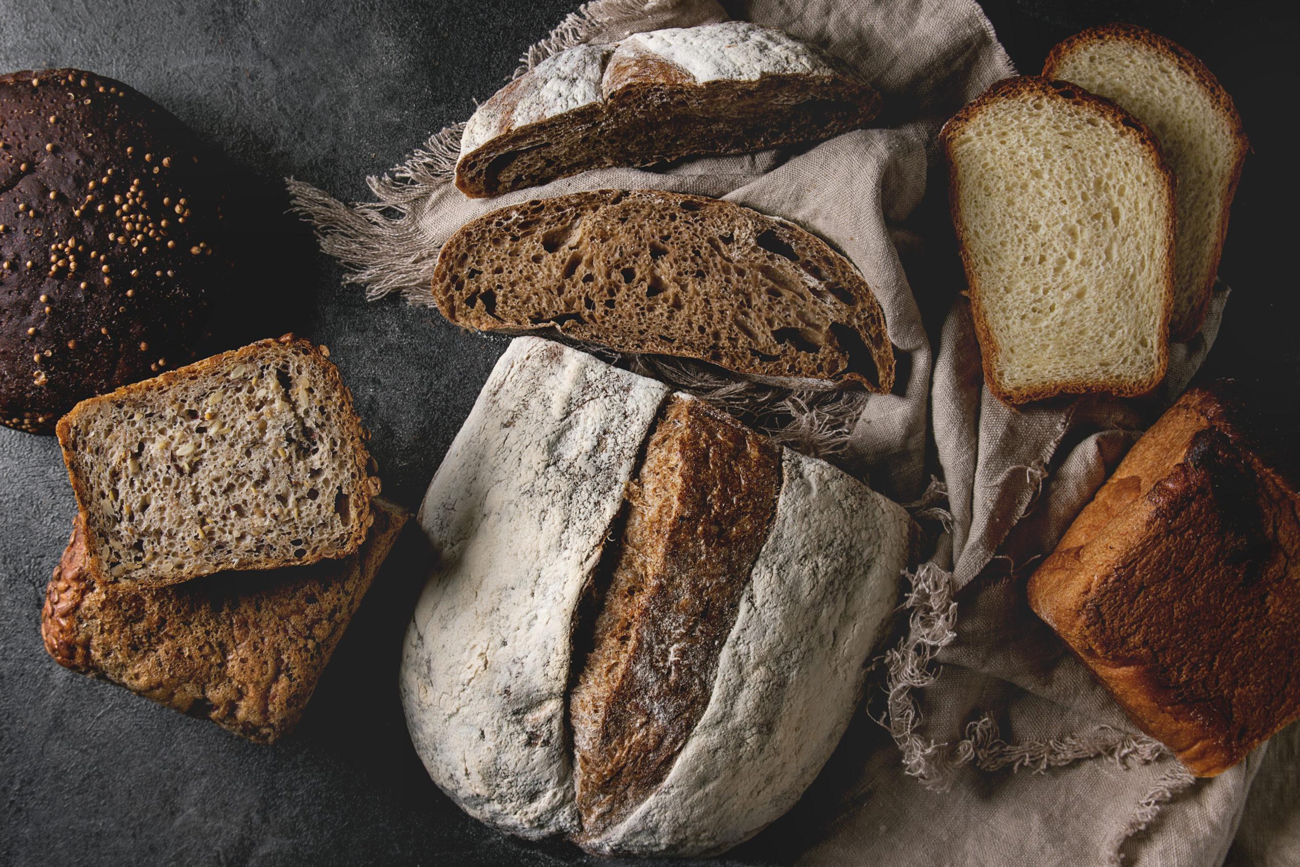 Brot backen Hefe