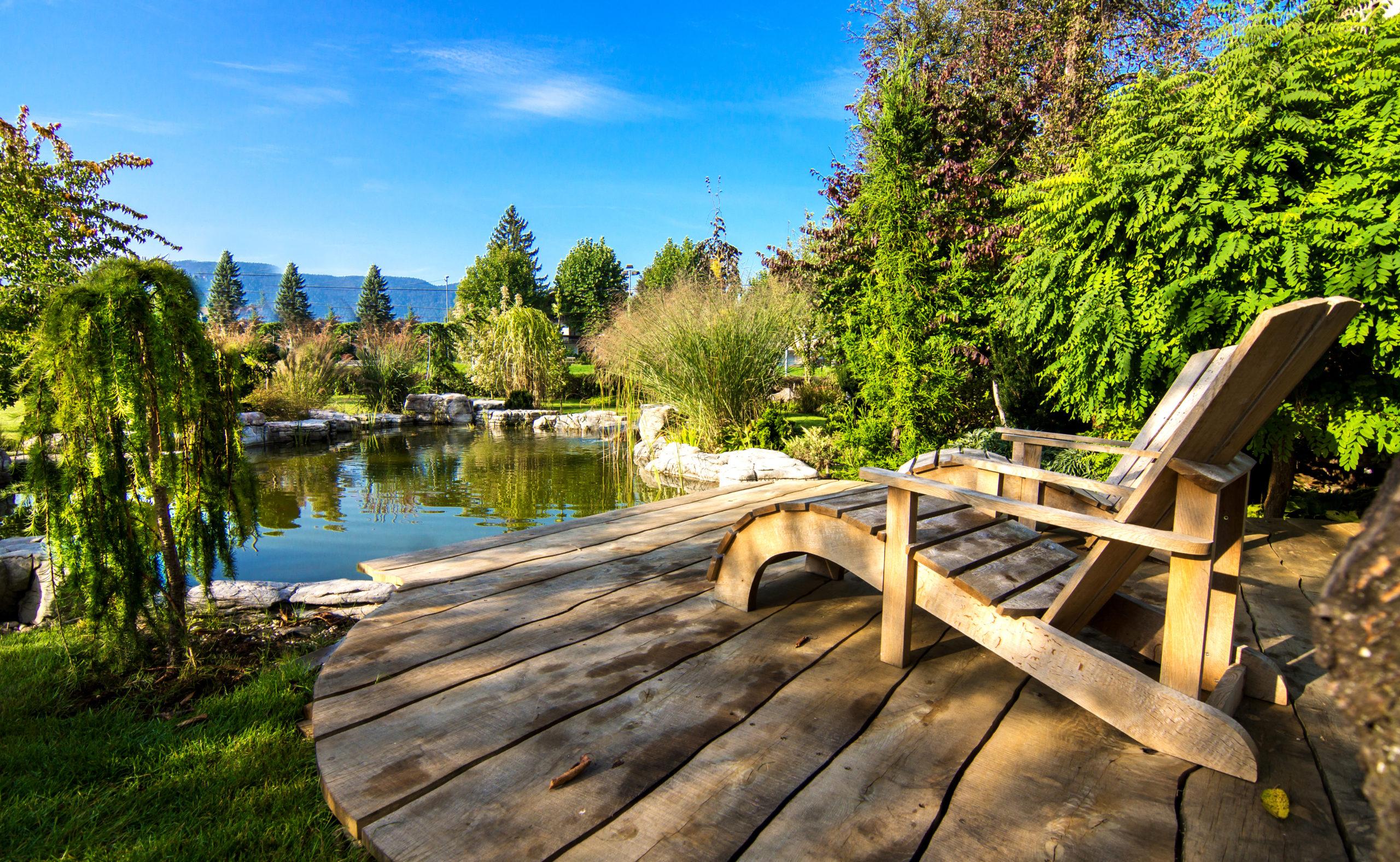 Ein Gartenteich bedeutet Lebensqualität und lässt uns die Natur genießen.